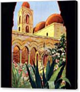 Palermo Italy Canvas Print