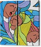 Palestinian Women Canvas Print