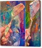 Palette Knife Canvas Print