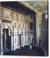 Palladio: Teatro Olimpico Canvas Print