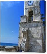 Palm Beach Clock Tower  Canvas Print