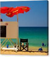 Palm Beach Dreaming Canvas Print