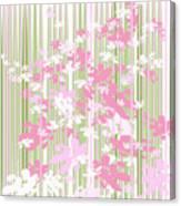 Palm Beach Floral II Canvas Print
