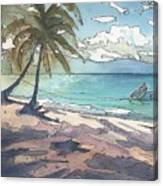 Palm Cove Canvas Print