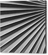 Palm Fan Pattern Canvas Print