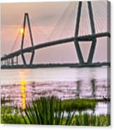 Palm Harbor Sunset - Charleston Sc Canvas Print