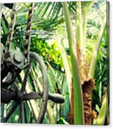 Palm House Pulley Canvas Print