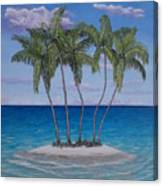 Palm Island Canvas Print