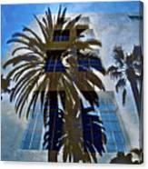 Palm Mural Canvas Print