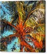 Palm No. 1 Canvas Print