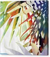 Palm Patterns 2 Canvas Print