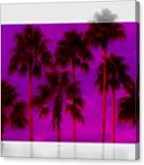 Palm Tree Heaven Canvas Print