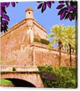 Palma De Majorca Old City Walls Canvas Print