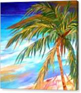 Palma Tropical II Canvas Print