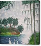 Palmetto Bayou Canvas Print