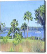 Palmetto Bluff Backyard Canvas Print