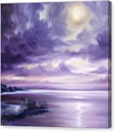 Palmetto Moonscape Canvas Print