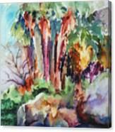 Palms...no Springs Canvas Print