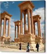 Palmyra-tetrapylon Canvas Print