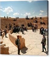 Palmyra-theater Canvas Print