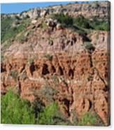 Palo Duro Canyon Amarillo Texas Canvas Print