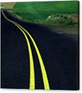 Palouse Back Road Canvas Print