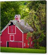 Palouse Barn Number 9 Canvas Print
