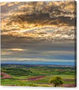 Palouse Sunset Canvas Print