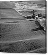 Palouse - Washington - Farms - 6 - Bw Canvas Print