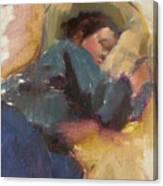 Pam Resting Canvas Print