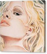 Pamela Anderson Canvas Print