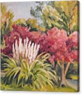 Pampas Landscape Canvas Print