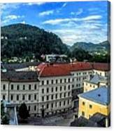 Pamramic Of Salzburg  Canvas Print