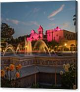 Panama Fountain Canvas Print