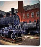 Panama Railroad Locomotive 299 Canvas Print