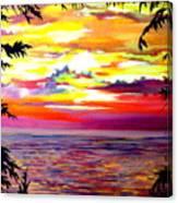 Panama.pacific Sunrise Canvas Print