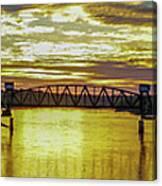 Panaroma Katy Bridge Canvas Print