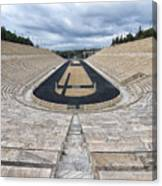 Panathenaic Stadium In Athens, Greece Canvas Print