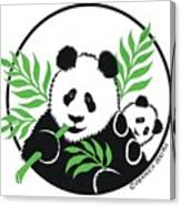 Panda Bear Canvas Print