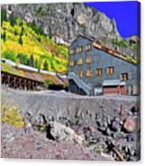 Pandora Mill - Telluride - Colorful Colorado Canvas Print