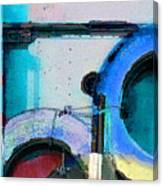 panel three from Centrifuge Canvas Print