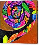 Pangea Spiral Canvas Print