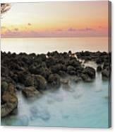Panorama Dawn Landscape Sea Tropical Island Maldives Pyrography By Aleksandr Matveev