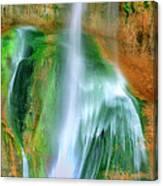 Panorama Lower Calf Creek Falls Escalante Nm Utah Canvas Print
