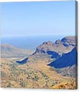 Panorama Mountain View Canvas Print