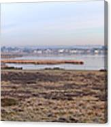 Panorama Of Christchurch Harbour Canvas Print