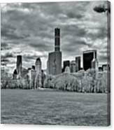 Panorama Of New York City Canvas Print