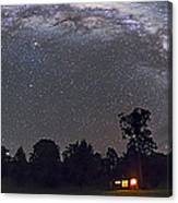 Panorama Of The Southern Night Sky Canvas Print