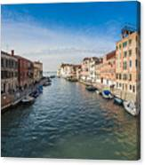 Panorama Of Venice Canvas Print