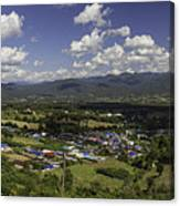 Panorama View Point Of Pai   Canvas Print